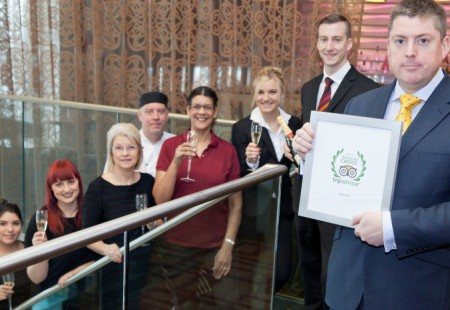Casa Hotel named 5th Best Hotel in UK by Trip Advisor 2015