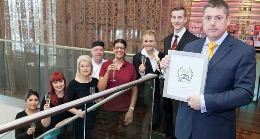 Casa Hotel named 5th Best Hotel in UK by Trip Advisor 2015