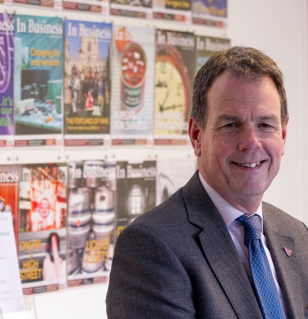 George Cowcher Chief Executive of East Midlands Chamber