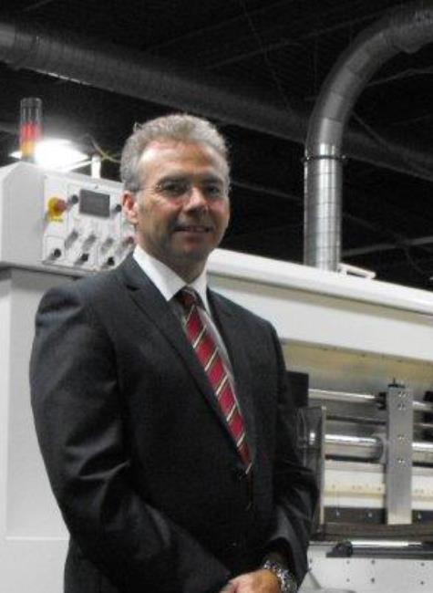 Mark Wilcockson The Corrugated Case Company Chesterfield Champion