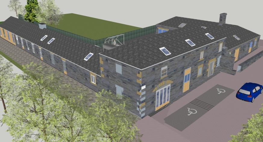 Staveley Hall Regeneration