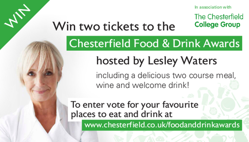 Nominate Chesterfield Food and Drink Awards