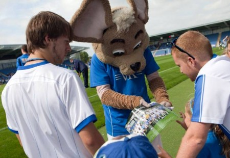 Chesterfield Football Club Chester the Field Mouse