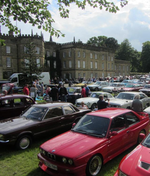 Classic Car and Bike Show Renishaw Hall