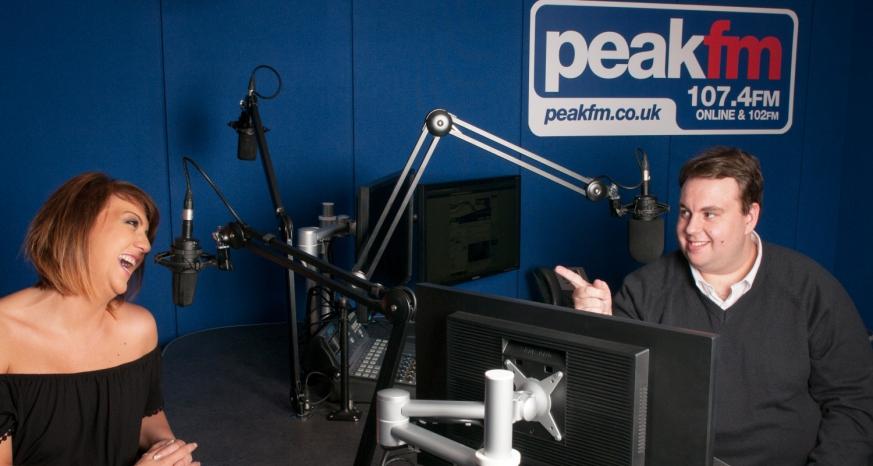 Peak FM Breakfast Team