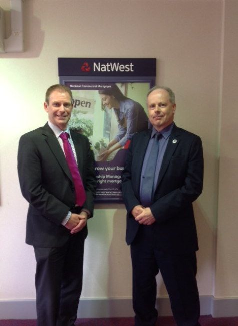 Mick Littlewood and David Hooper NatWest