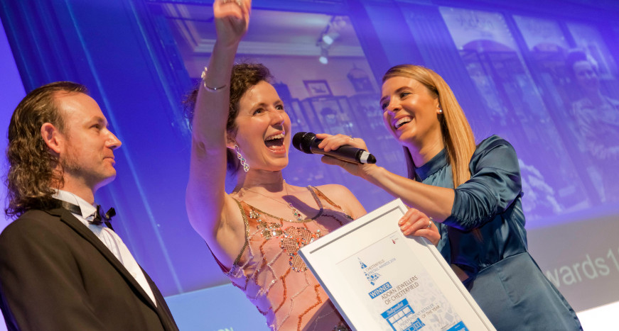 Adorn Jewellers at Chesterfield Retail Awards