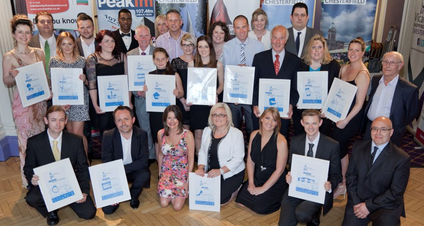 Chesterfield Retail Awards Winners 2015