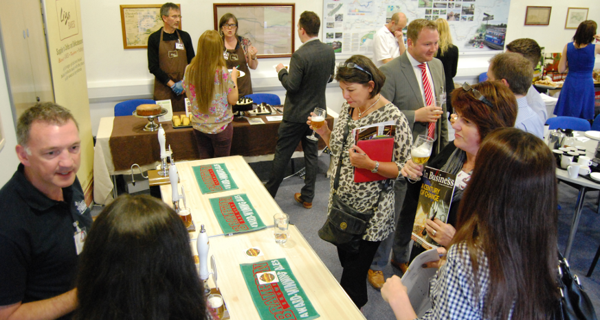 Chesterfield Food Producer Tasting Session 2014