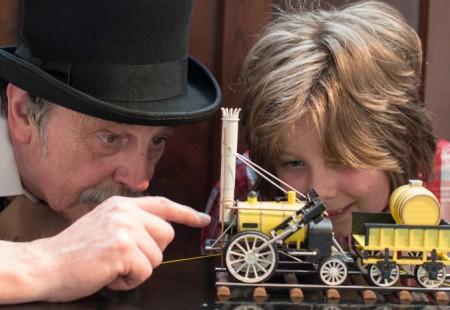 Meet George Stephenson Chesterfield Museum
