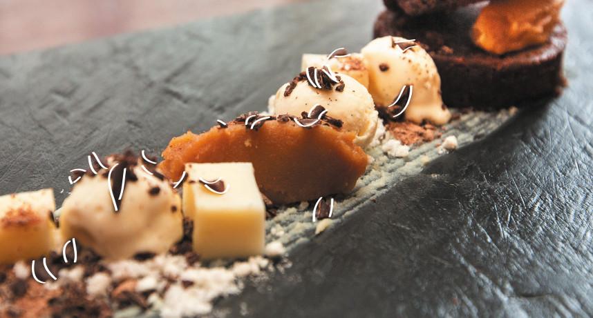 Peanut and Chocolate Bake