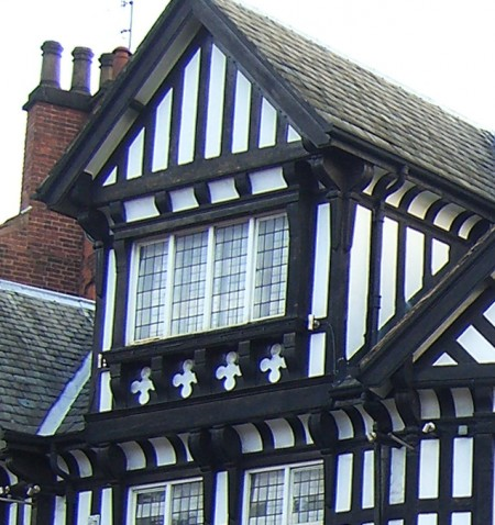 Chesterfield's black and white buildings