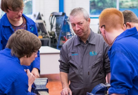 Made in Chesterfield - The Bolsover School at NLT Training