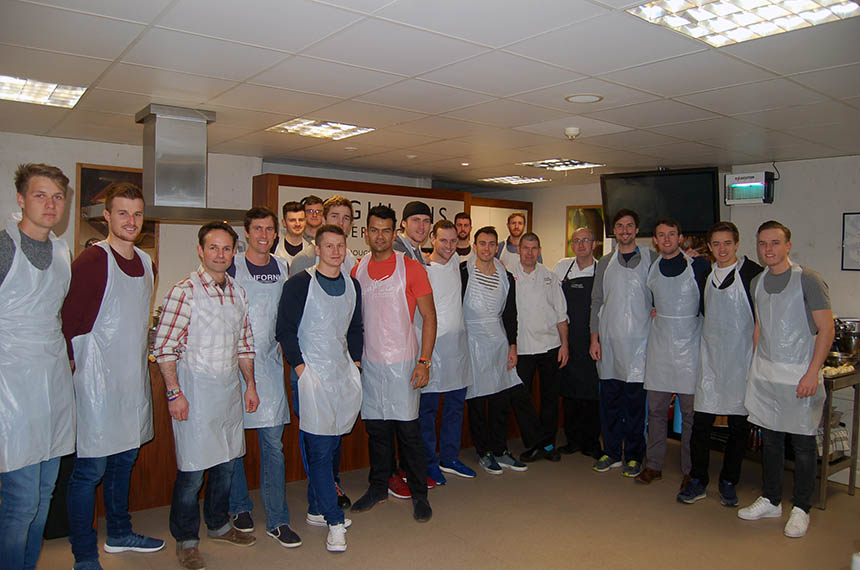 Healthy Eating Challenge for Derbyshire County Cricket Club