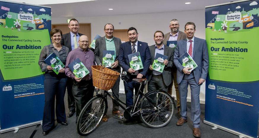 Derbyshire Cycling Plan launch