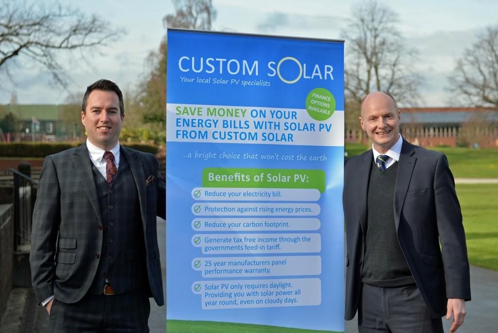 Custom Solar to sponsor Chesterfield Festival of Cricket