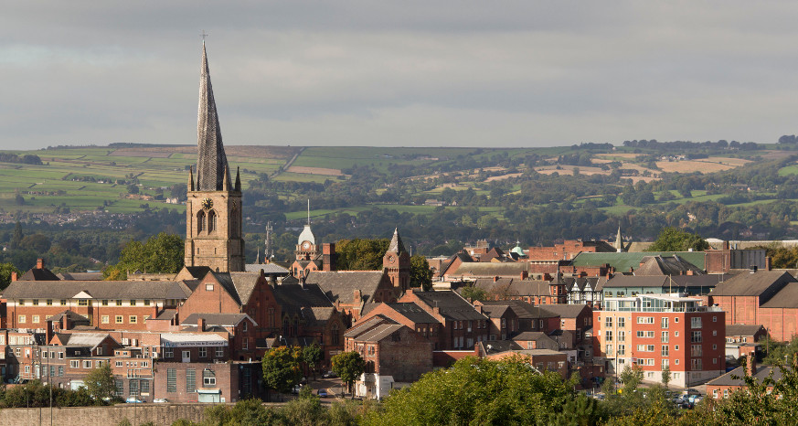 Chesterfield views - Crooked Spire