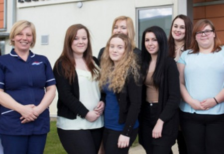 Chesterfield college nursing cadets 2016