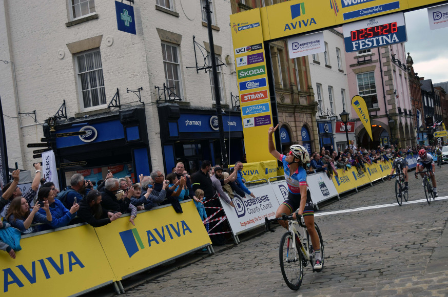 Aviva Women's Tour Chsterfield
