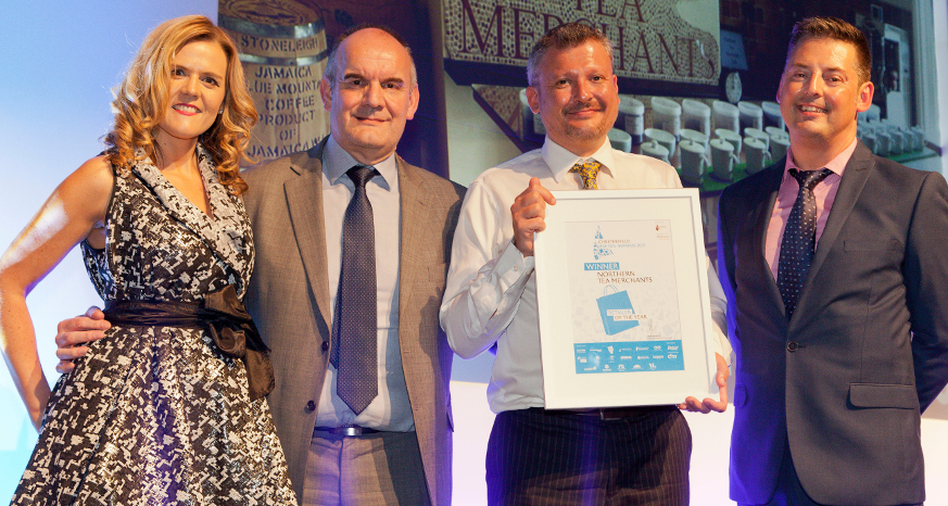 Northern Tea - Winner of Chesterfield Retail Awards 2017